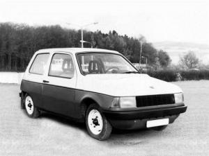 1982 Trabant 601 WE II Prototype