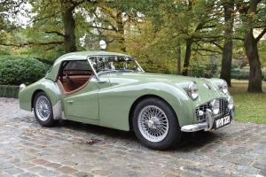 Triumph TR3A Works Rally Car
