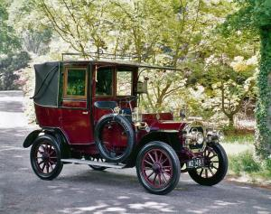 1908 UNIC 12/14 HP Taxicab