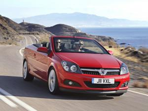 Vauxhall Astra TwinTop 2006 года