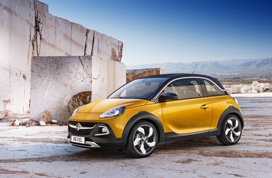 Vauxhall Adam Rocks '2014
