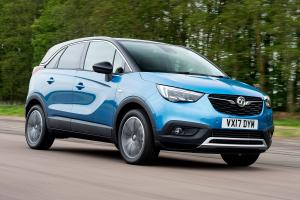 Vauxhall Crossland X Turbo 2017 года