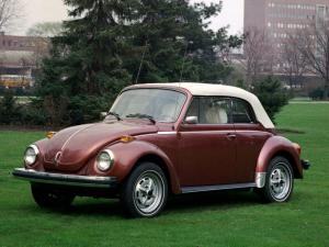 Volkswagen Super Beetle Convertible 1973 года