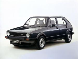 Volkswagen Golf GTi 5-Door 1976 года