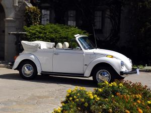 1978 Volkswagen Beetle Triple White Super Cabriolet
