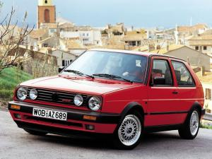 1988 Volkswagen Golf GTi G60 3-Door