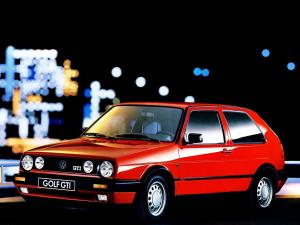 Volkswagen Golf GTi 3-Door 1989 года