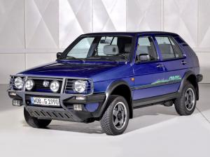 Volkswagen Golf Country 1990 года