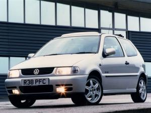 Volkswagen Polo Open Air 1995 года (UK)