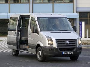 Volkswagen Crafter Bus 2006 года