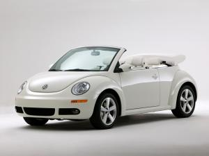 Volkswagen New Beetle Cabriolet Triple White 2007 года