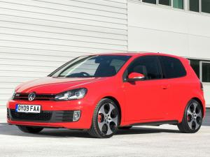 Volkswagen Golf GTi 3-Door 2009 года