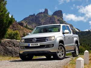 Volkswagen Amarok Double Cab Highline 2010 года (UK)