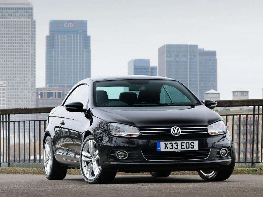 Volkswagen Eos 2.0 TDi BlueMotion (UK) '2010
