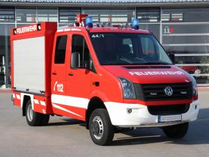 2011 Volkswagen Crafter Double Cab Pickup 4Motion Feuerwehr