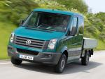 Volkswagen Crafter Double Cab Pickup 2011 года