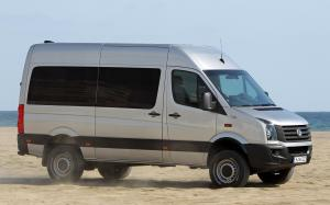 Volkswagen Crafter High Roof Bus 4Motion by Achleitner 2011 года