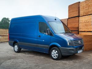Volkswagen Crafter High Roof Van 2011 года