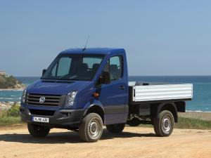 2011 Volkswagen Crafter Pickup 4Motion by Achleitner