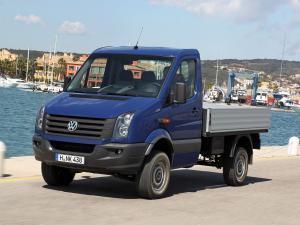 Volkswagen Crafter Pickup 4Motion by Achleitner 2011 года
