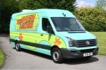 Volkswagen Crafter The Mystery Machine 2012 года