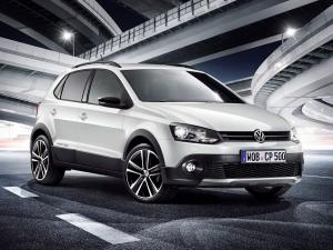 Volkswagen CrossPolo Urban White 2012 года