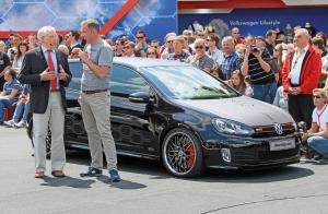 Volkswagen Golf GTi Black Dynamic Concept 2012 года