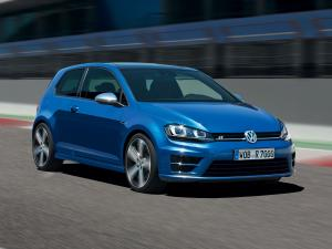 Volkswagen Golf R 3-Door 2013 года