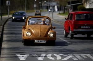 2014 Volkswagen Beetle in Wood