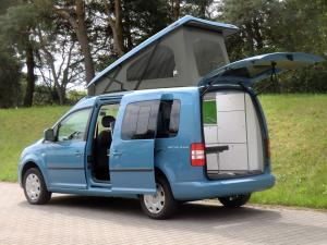 Volkswagen Caddy Maxi Camp Reimo 2014 года