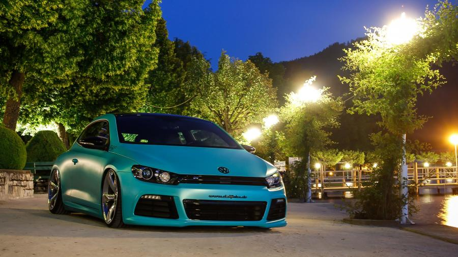 Volkswagen Scirocco R by Platinum Wrapping Film