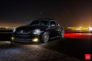 2015 Volkswagen Beetle on Vossen Wheels (VLE1)