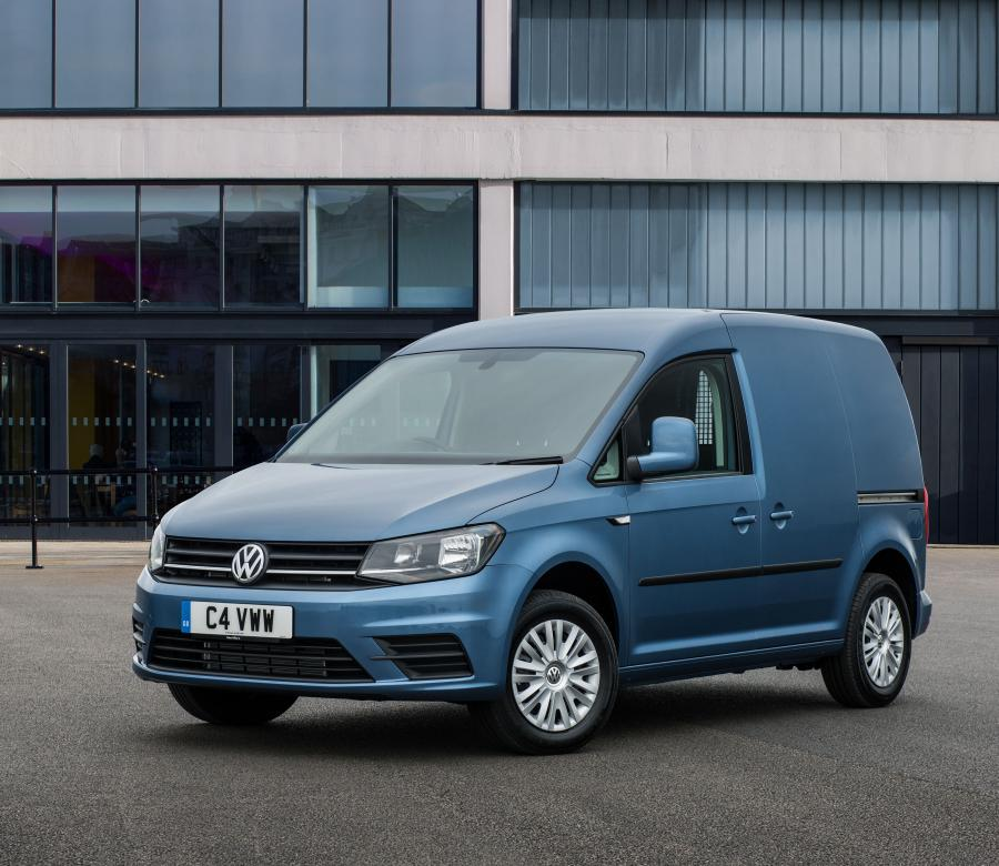 2015 Volkswagen Caddy Kasten Trendline (UK)
