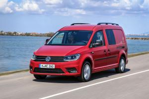 2015 Volkswagen Caddy Maxi Crew Bus