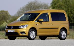 Volkswagen Caddy Trendline BlueMotion 2015 года