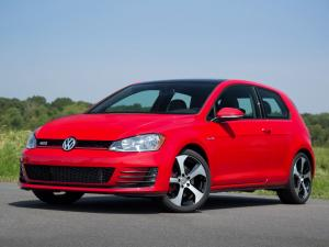 Volkswagen Golf GTi 3-Door 2015 года (US)