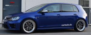 2015 Volkswagen Golf R on ADV.1 Wheels (ADV5.0TFSL)