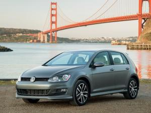 Volkswagen Golf S 5-Door 2015 года (US)
