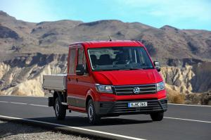 Volkswagen Crafter Double Cab Pickup 2016 года
