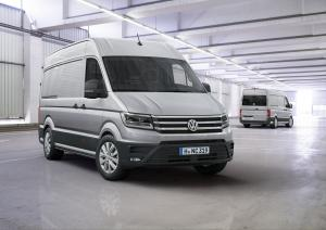 2016 Volkswagen Crafter High Roof Van