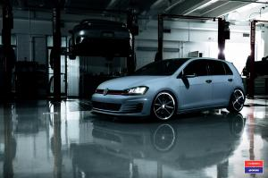 2016 Volkswagen Golf GTI X Work on Vossen Wheels (VWS-1)