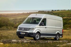 Volkswagen Crafter 4Motion High Roof Van 2017 года
