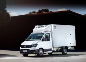 2017 Volkswagen Crafter Single Cab Chassis