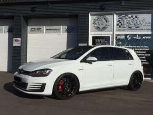 Volkswagen Golf GTi White by TVW Car Design 2017 года