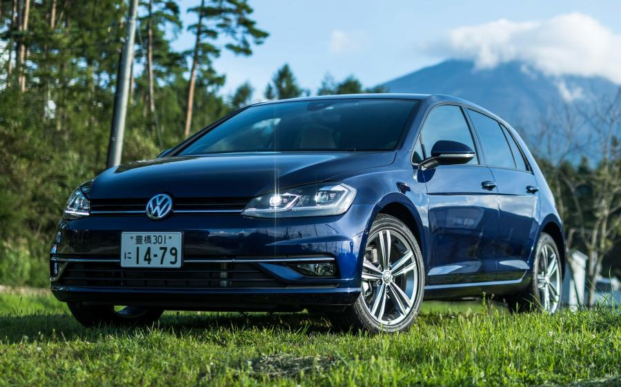 Volkswagen Golf TDI 5-Door (Typ 5G) (JP) '2017
