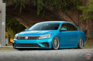 Volkswagen Passat R X Work on Vossen Wheels (LC-106T)