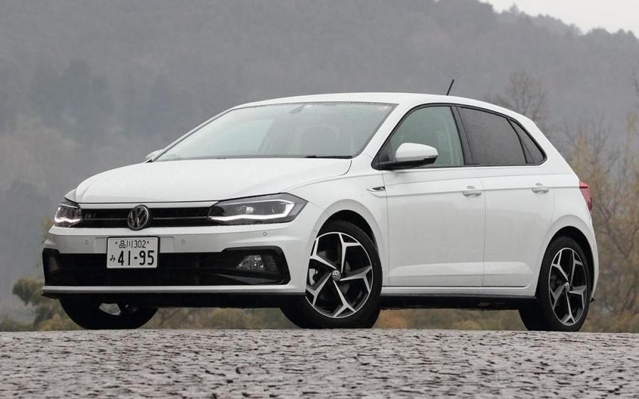 Volkswagen Polo R-Line (Typ AW) (JP) '2017