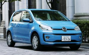 Volkswagen up! 5-Door 2017 года (JP)