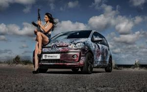 Volkswagen up! by WrapStyle 2017 года