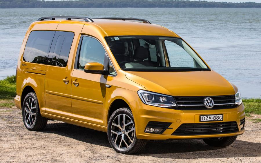 2019 Volkswagen Caddy Beach Maxi (AU)